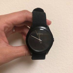 Black Nixon watch